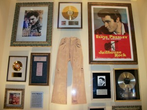 Pants worn by Elvis during the filming of Love Me Tender