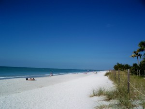Captiva, Florida - The whitest sand