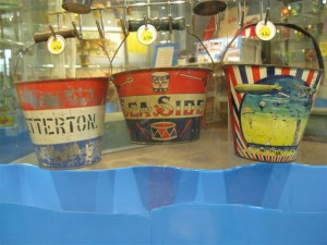 The Sand Pail Exhibit (picture, courtesy of the Rehoboth Beach Historical Society)