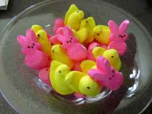 Peeps are Gluten Free and you can get them Sugar Free too!!