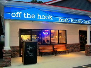 Off The Hook Restaurant Bethany Beach Delaware Fresh Local Lunch Dinner Review Beaches