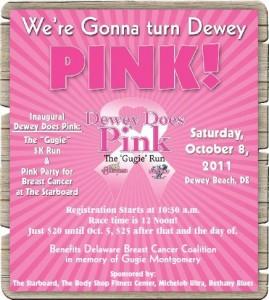 dewey does pink