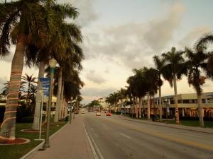 Atlantic Ave. going East
