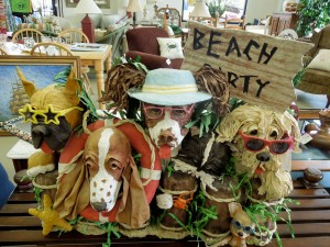 These pooches are at Seaquels in Ocean View, Delaware