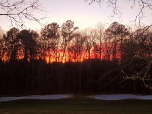 Monday's Sunset