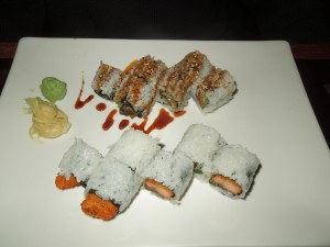 Unakyu and Man Eater Sushi Rolls