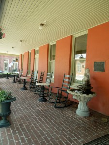The Porch at the Atlantic Hotel, Berlin, Maryland