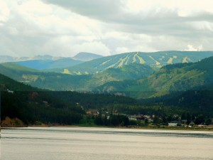 Eldora Ski Resort in the background