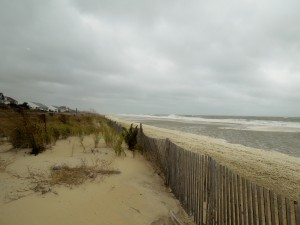 Looking north towards Rehoboth Beach