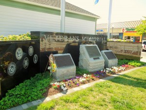 Veteran's Memorial Wall & Garden in Rehoboth Beach, Delaware