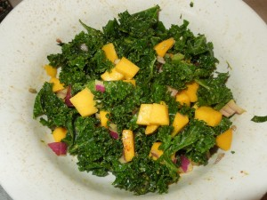 Kale & Mango Salad. The Best!!