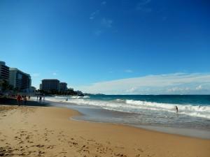 Beach in Condado