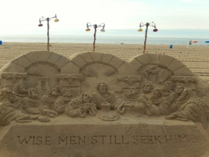 Sand Sculpting in OC